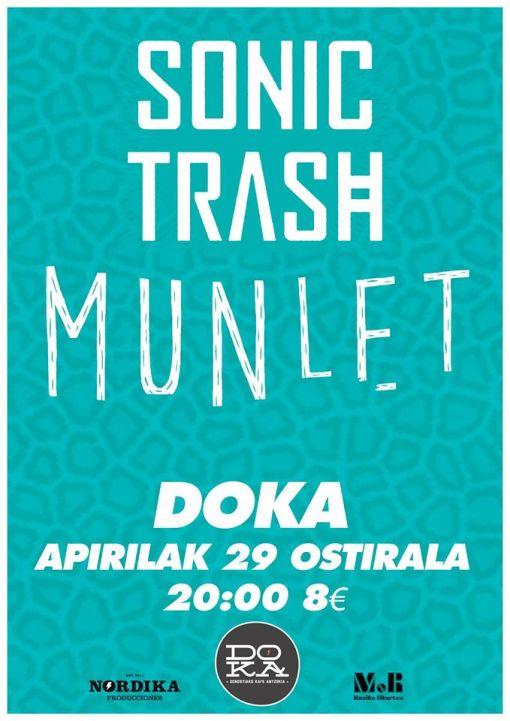 munlet sonic trash DOKA 2016